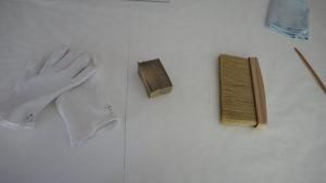 Werkzeuge zur Restaurierung - Trockenreinigung