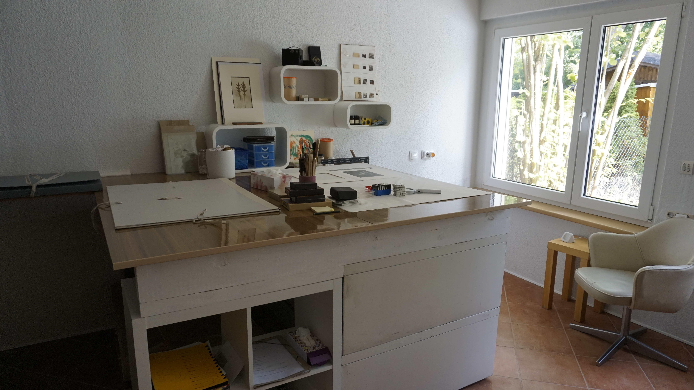 Blick in die Werkstatt für Restaurierung